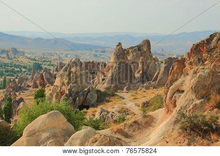 national park Goreme in Cappadocia