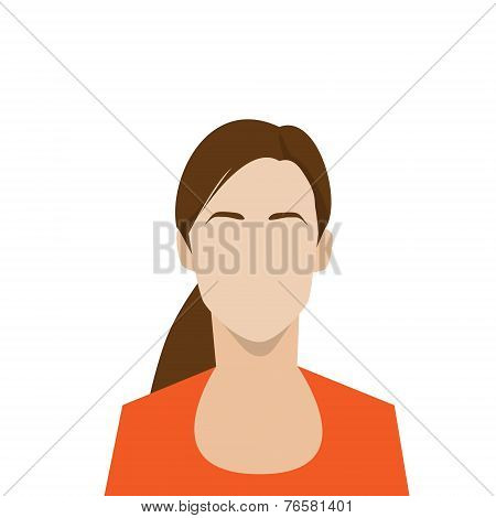 profile icon female avatar woman portrait