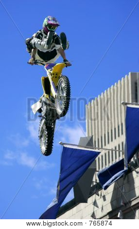 Freestyle Motorcycle Jumping