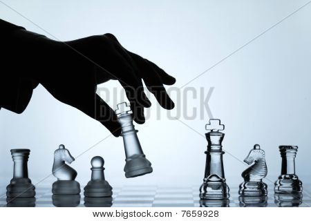 Coleção de jogo de xadrez: Rei Move