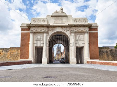 Menin Gate - World War I Memorial In Ypres