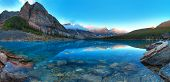 pic of ten  - Moraine lake in Banff National Park - JPG