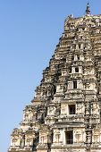 stock photo of karnataka  - Virupaksha Temple in Hampi Karnataka in India - JPG
