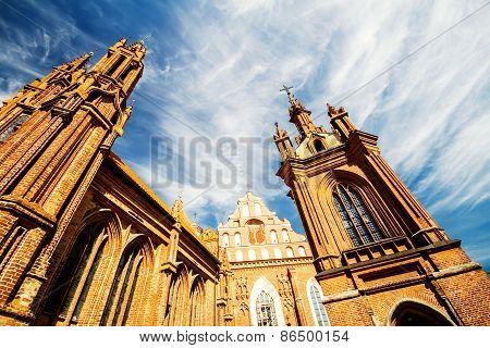 St. Anne's Church Towers