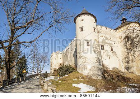 Niedzica Castle In Poland.