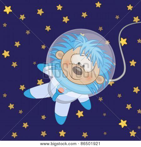 Hedgehog Astronaut