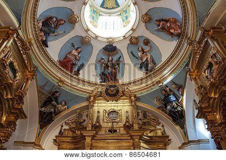 Interior Of Burgos Cathedral