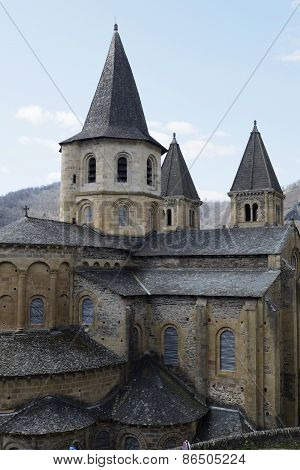 Saint Foy Abbey-church Conques