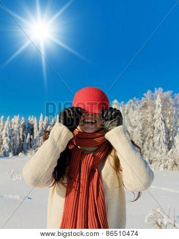 Enjoying the Snow Outdoor Season Fashion
