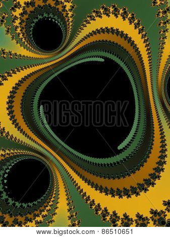 Abstraction fractal background
