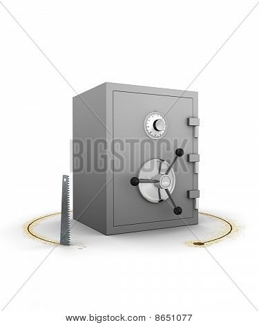 Stealing A Safe Or Vault - Concept For All Types Of Theft