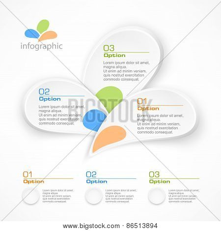 Infographic Petal Elements