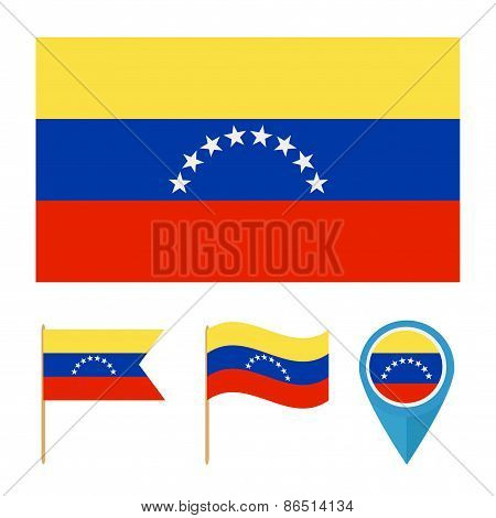 Venezuela,country flag