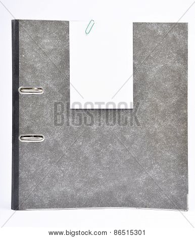 Ring Binder With Memo