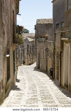 Street Of The Old Town
