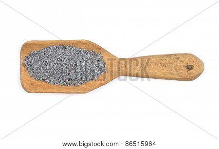 Poppy Seeds On Shovel