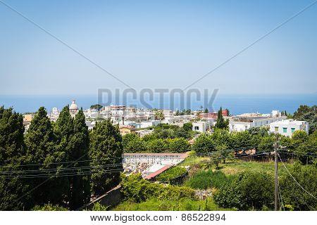 Capri island, Italy - July 16