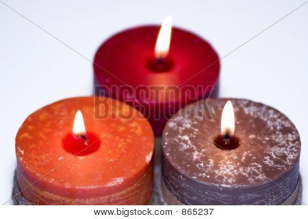 Kerze triplet