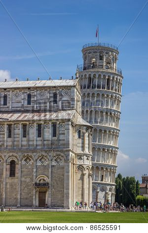 Leaning Tower And Duomo Of Pisa