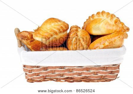 Pies In  Basket