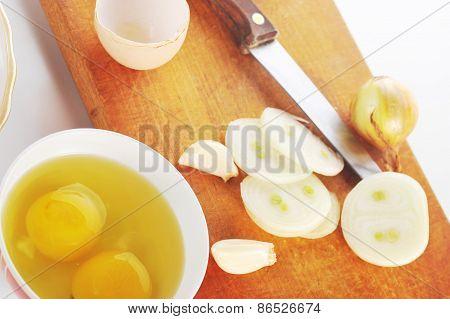 Spicery On Cutting Board