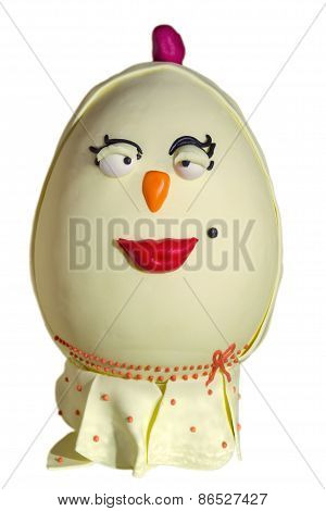 Easter Egg With Human Form