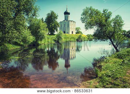 Church Intercession On Nerl River