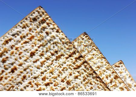 Matzo As The Egyptian Pyramids