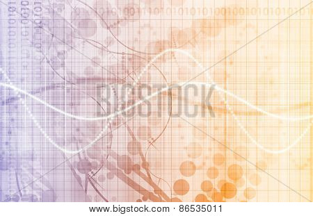 Virtual Technology with Data Filtering Web Art
