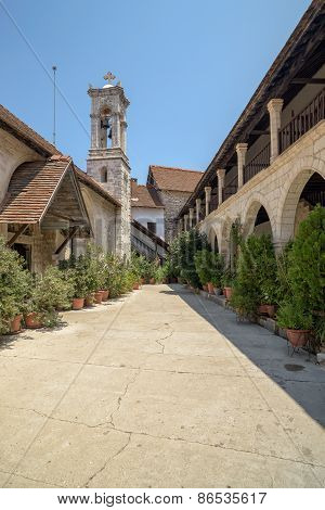 The Monastery Of The Virgin Mary Of Chrysotogiatissa On Cyprus