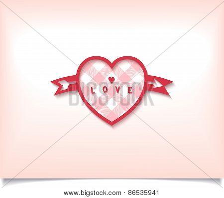 Love symbol heart with arrow