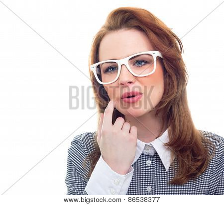 Close-up Trendy Woman