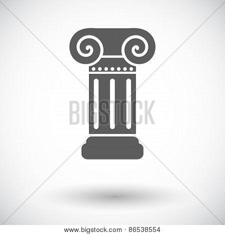 Column single icon.