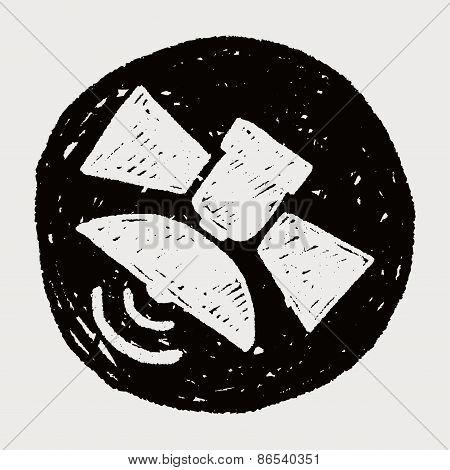 Doodle Satellite