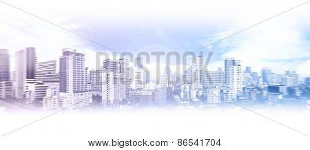 Abstract view of Bangkok