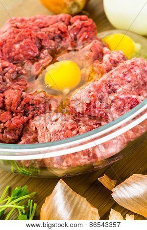 Preparing Meatballs
