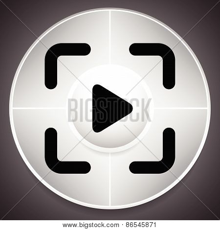 Joystick Template With Arrows