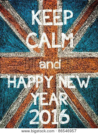 Keep Calm and Happy New Year 2016.