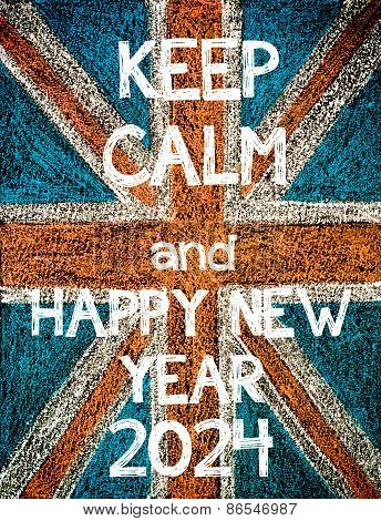 Keep Calm and Happy New Year 2024.