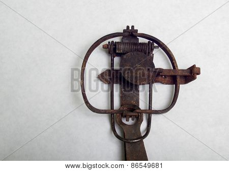 Vintage Stop Loss Leghold Animal Trap
