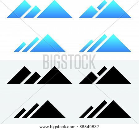 Mountain Peak Symbols
