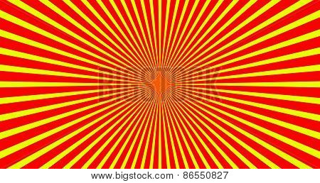 Rays, Beams. Sunburst, Starburst Background