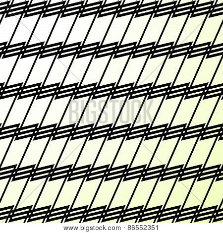 Modern, Minimal Abstract Grid, Mesh Pattern