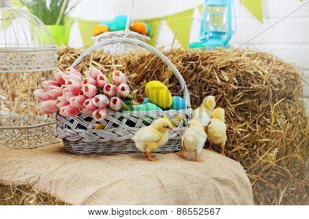Chicken On A Haystack