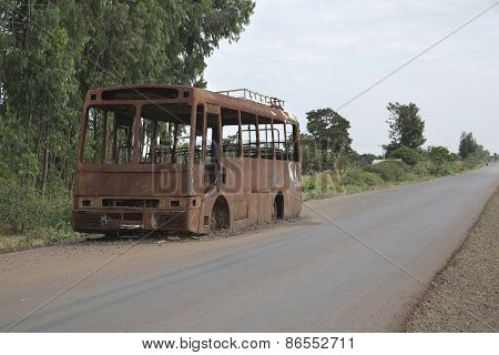 The Burned-down Bus.