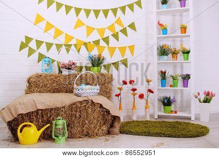 Bright Festive Interior