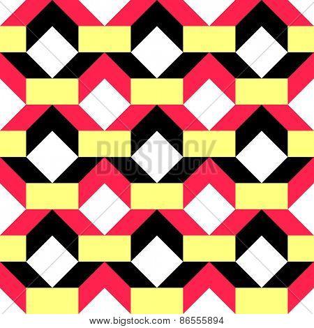 Seamless Geometric Pattern. Vector Regular Texture