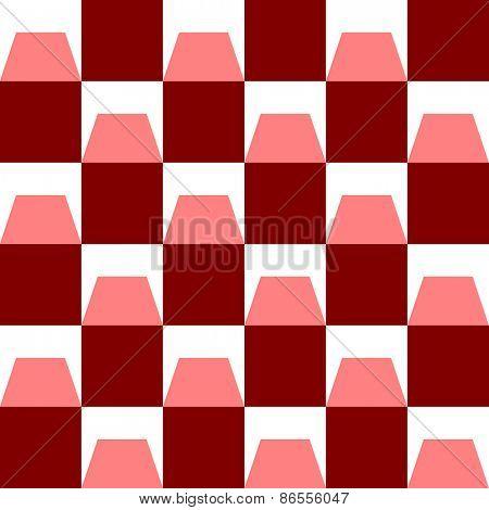 Seamless Square Pattern. Vector Regular Texture