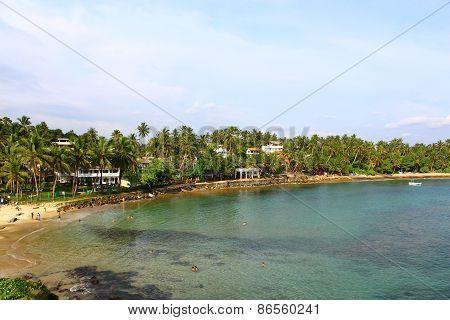 The Mirissa Beach