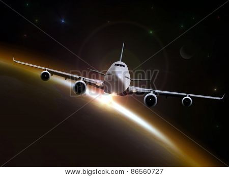 Flying Over The Horizon